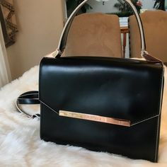 b13f2633ec760b Shop Women s Ted Baker Black size OS Shoulder Bags at a discounted price at  Poshmark. Description  Barely used ted baker bag.