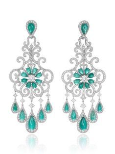 diamond chandelier earrings - Google Search | Clothes and ...