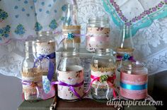 Vintage Themed Baby Shower Decorations » DIY Inspired