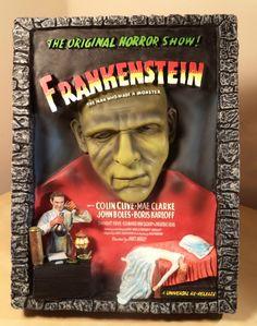 Code 3 Collectibles Legendary Casts Frankenstein in 3D