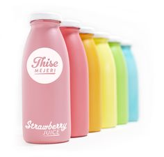 d by old milk glass bottles and round shapes which inspiration is reflected in the logo and packagin