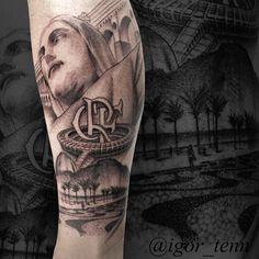 Resultado de imagem para tattoo cristo redentor