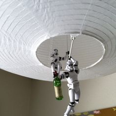 Clone  troopers will save you with alcohol!!!