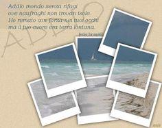 """Addio"" postata da Manuela Lucca"