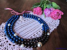 Garnet necklace Photo: Smallthingscount