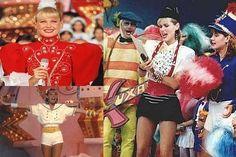 'Xou da Xuxa' - Xuxa, a eterna rainha dos baixinhos, reinou absoluta nos anos 80, o programa 'Xou da Xuxa', da rede Globo, a transformou em uma celebridade mundial. O programa era marcado por desenhos, gincanas, músicas infantis como 'ilariê' e paquitas, que fizeram tanto sucesso que 'ser paquita' virou o sonho de várias meninas da época. Veja também