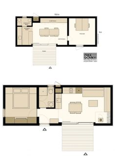 20 Ideas container house design floor plans cabin for Freedomky House: Eco-Friendly Prefab - great modern design . Container House Plans, Container House Design, Tiny House Design, Prefabricated Houses, Prefab Homes, Modular Homes, Cabin Floor Plans, Small House Plans, Tyni House