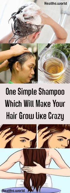 One Simple Shampoo Which Will Make Your Hair Grow Like Crazy #health #beauty #getrid #howto #exercises #workout #skincare #skintag #bellyfat #homeremdieds #herbal