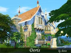 Doris is my dear Simfriend, who I dedicate the creation. This charming, English house hides contemporary, chic interiors, and a lot of simple fun. The cottage features three bedrooms, four...