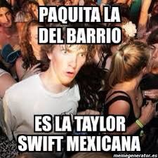 Paquita vs taylor