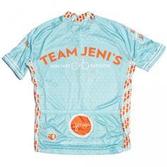 Team Jeni's civilian bike jersey.  #teamjenis