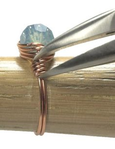Wire-wrapped ring tutorial