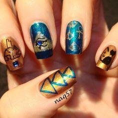 69 Best Egyptian Nails Images On Pinterest Egyptian Nails Make