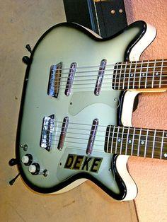 Danelectro Baritone 15 Deke Dickerson & The Ecco-Fonics