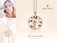 As beautiful as a rose - the La Vie En Rosé Collection: http://www.valmano.de/julie-julsen?color=rosegold