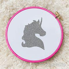 Endless-Ecostitch-Embroidery #EEE Stickdatei – Einhorn / Pferd