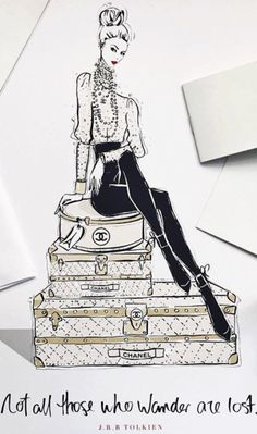 19 new Ideas fashion sketches chanel megan hess illustration Megan Hess Illustration, Dress Illustration, Fashion Illustration Dresses, Fashion Illustration Sketches, Fashion Sketches, Drawing Fashion, Fashion Painting, Trendy Fashion, Fashion Art