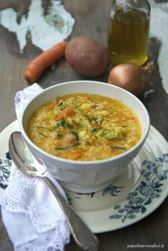 Pane, burro e alici: Zuppa di miglio