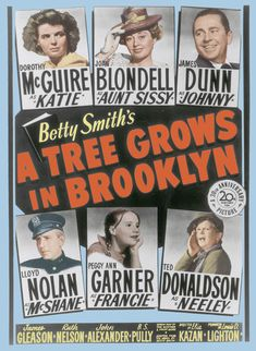 "Mother's Day Movie of the Day: ""A Tree Grows in Brooklyn"" (1945) — The Movie Seasons"