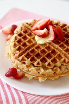 Prep for Sunday brunch by perfecting this perfect buttermilk waffle recipe.