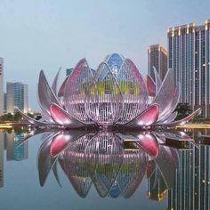 Lotus building, Wujin, China. From Facebook. 5-6-15