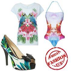Friday Fashion Fun Tropical