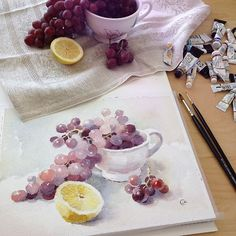 Watercolors by Maria Stezhko (Акварели Марии Стежко):