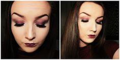 Autumn/Fall Glam Makeup Look