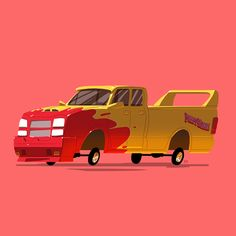 """Greatest Rides"" is a new ongoing series by Ido Yehimovitz, featuring famous vehicles from his favorite movies and TV shows."