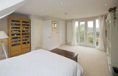 mansard loft conversion bedroom