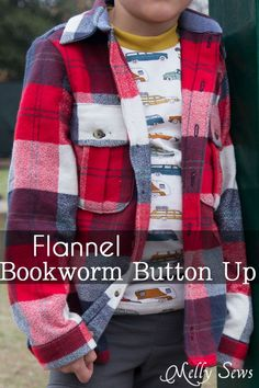 c11a9bfae31 Bookworm Button Up shirt by Blank Slate Patterns - Sewing for Boys - Melly  Sews Sewing