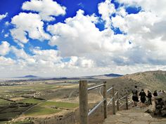 Mount Bental: an old army out-post on the Golan Heights with incredible views!