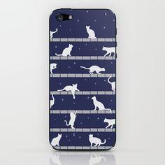 Cats iPhone & iPod Skin by Vivi Nicolin - $15.00 - Buy here: http://society6.com/vivinicolin/Cats-ZIk_Phone-Skin