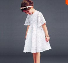Cheap girls lace dress, Buy Quality toddler dress directly from China baby girl lace dress Suppliers: New 2017 Baby Girls Lace Dress Kids Summer White Dress Children Half Sleeve Dress Toddler Fashion Kids, Little Girl Fashion, Little Girl Dresses, Flower Girl Dresses, Princess Dresses, Toddler Dress, Baby Dress, Dress Girl, Latest Fashion News