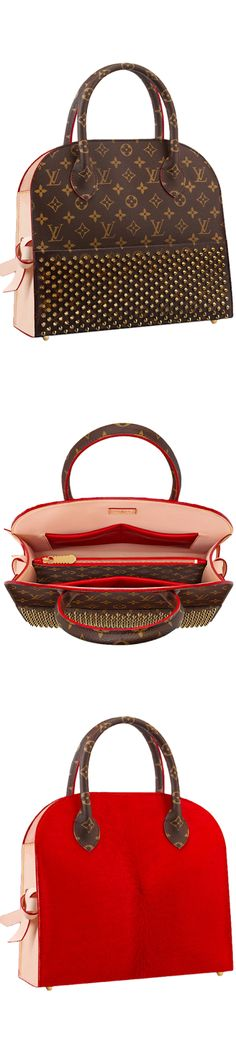 LOOKandLOVEwithLOLO~Louis Vuitton Icon and Iconoclasts Collection. Shopping Bag Christian Louboutin