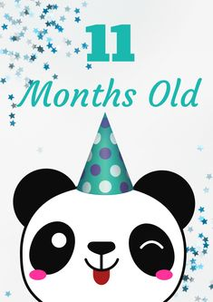 Panda Invasion! Free printable baby month to month milestone signs! only at philandmama.com. Pandas, pandas, everywhere!