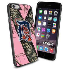 Detroit Tigers MLB PinkCamo Logo WADE6307 Baseball iPhone 6 4.7 inch Case Protection Black Rubber Cover Protector WADE CASE http://www.amazon.com/dp/B013Z44X6O/ref=cm_sw_r_pi_dp_rR3nwb0VEQ3Q4