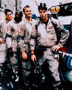 The Ghostbusters. I was madly in love with each of them when I was ten years old.
