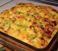 Jalapeno & Cheddar Cornbread. It's even good without the cheddar and jalapeño part!