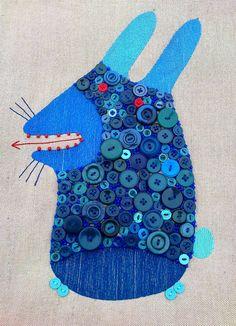 "textile bags. (Animals) ""Smyk"" on Behance"