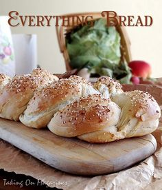 Everything Bread. A little #PlugraButter on this would be great! www.plugra.com