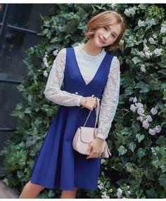 Luviz Lu Wei seda sin mangas vestido femenino 2016 Hitz versión coreana de las faldas del vestido de la falda del chaleco delgado en -tmall.com Lynx