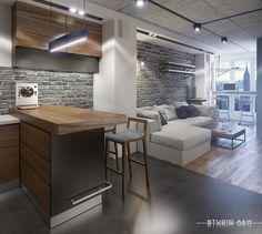NYC Loft by Studio A&W