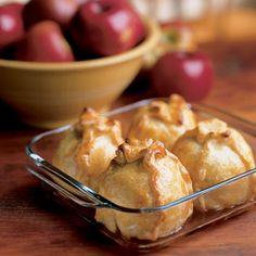 you don't know how i miss my grandma's homemade apple dumplings!!