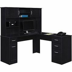Bradford Corner Desk Black Desk Pinterest