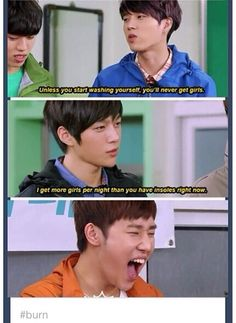 #burn #infinite #kpop sunggyu's face just makes it that much better