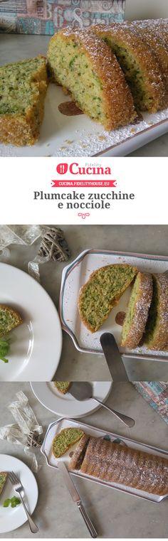 Plumcake zucchine e nocciole