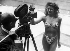 The bikini was created in Designer Louis Reard created the never before seen design for swimwear. The bikini is named after the pacific island Bikini Atoll. The suit was no accepted in the US at first. Europeans were the first group to adopt the bikini.