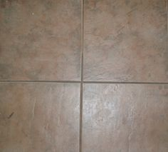 Homemade grout cleaner. Can be used on all tile surfaces. It can also be used as a poultice to remove stains from grout and natural stone. 3 cups of baking soda 1 cup of water Or 3 parts baking soda to 1 part water, amount depends area to be cleaned Mix the baking soda into a paste and apply to the dirty grout. Let it dwell for 10 minutes and rinse clean.
