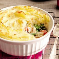 Fish pie with potato crust - Chatelaine